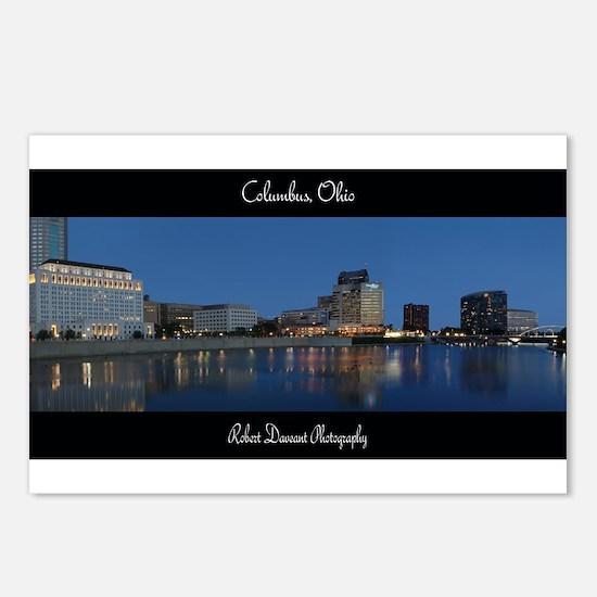 Columbus Ohio Skyline Postcards (Package of 8)