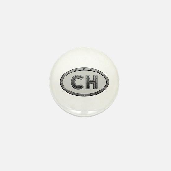 CH Metal Mini Button