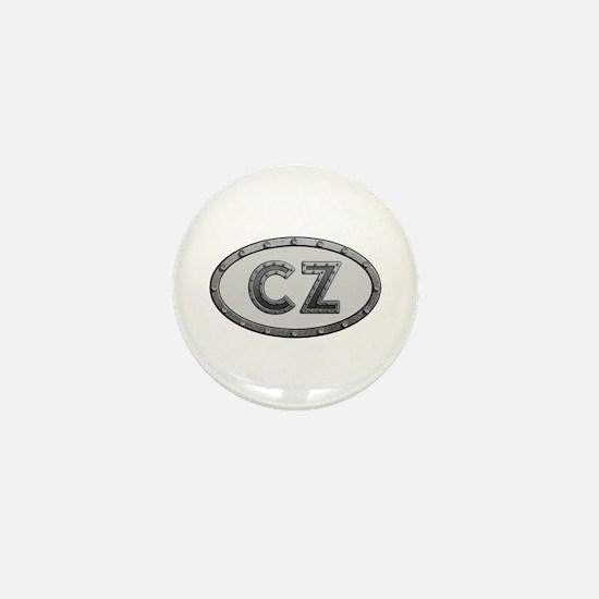 CZ Metal Mini Button