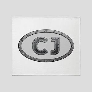 CJ Metal Throw Blanket