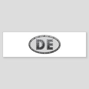 DE Metal Bumper Sticker
