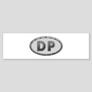DP Metal Bumper Sticker