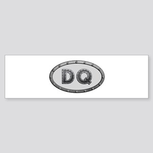 DQ Metal Bumper Sticker