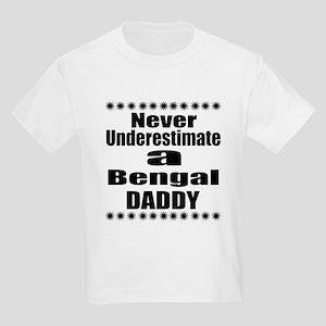 Never Underestimate Bengal Cat Kids Light T-Shirt