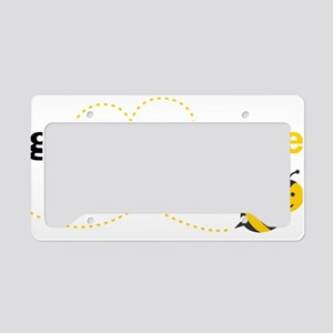 Grandpa To Bee License Plate Holder