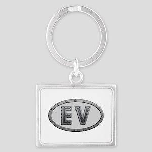 EV Metal Landscape Keychain