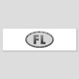 FL Metal Bumper Sticker