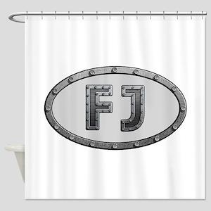 FJ Metal Shower Curtain