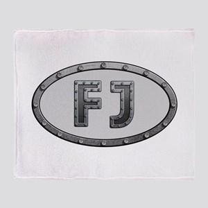 FJ Metal Throw Blanket