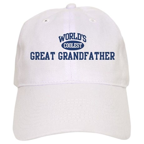 Coolest Great Grandfather Cap