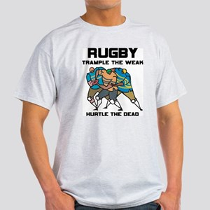 Trample The Weak Rugby Ash Grey T-Shirt