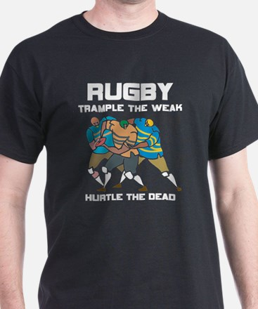 Trample The Weak Rugby T-Shirt