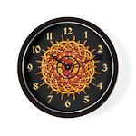 Celtic Knotwork Sun Wall Clock