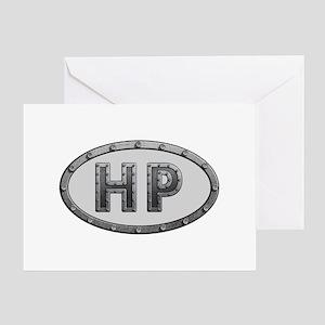 Initials hp greeting cards cafepress hp metal greeting card m4hsunfo