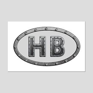 HB Metal Mini Poster Print