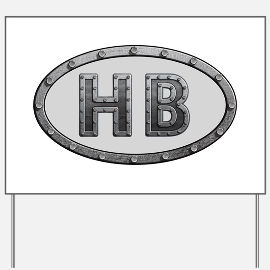 HB Metal Yard Sign