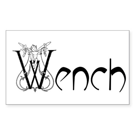 Wench Rectangle Sticker