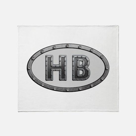 HB Metal Throw Blanket