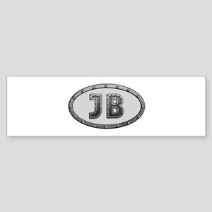 JB Metal Bumper Sticker