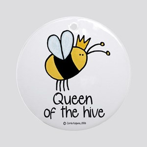 Queen of the hive Ornament (Round)