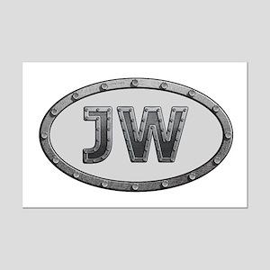 JW Metal Mini Poster Print