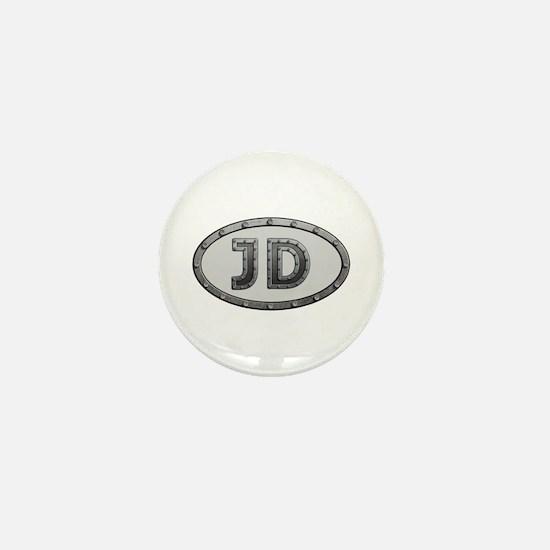 JD Metal Mini Button