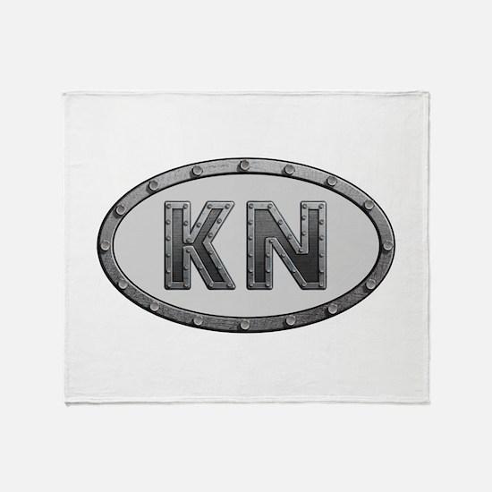 KN Metal Throw Blanket