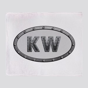 KW Metal Throw Blanket