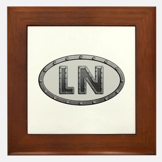 LN Metal Framed Tile