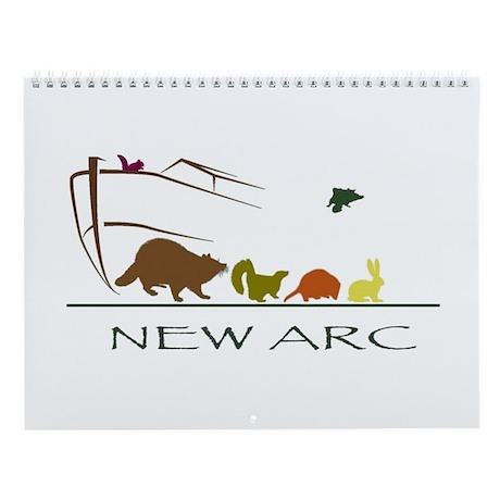2016 Raccoon Wall Calendar-Babies Of New Arc