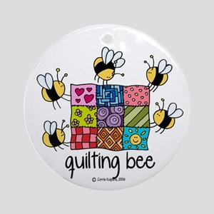 Quilting bee Ornament (Round)