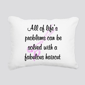 TOP HAIR STYLIST Rectangular Canvas Pillow