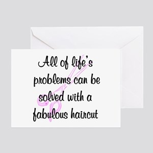 TOP HAIR STYLIST Greeting Card