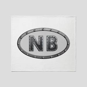 NB Metal Throw Blanket