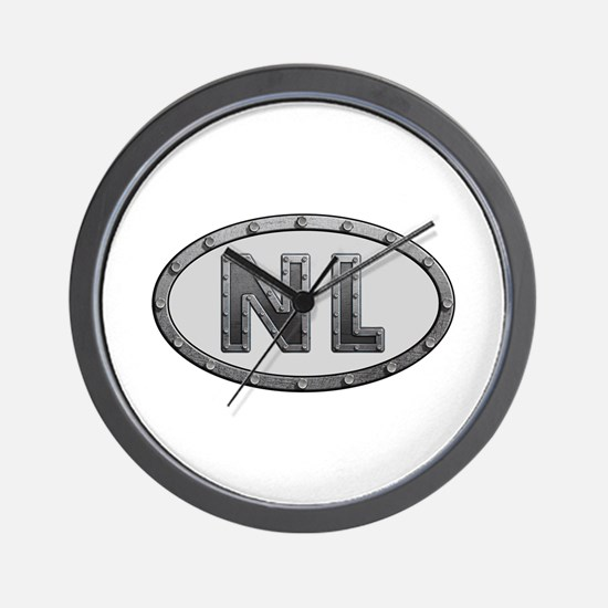 NL Metal Wall Clock