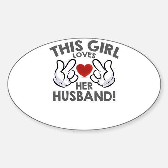 this girl loves her husband Decal