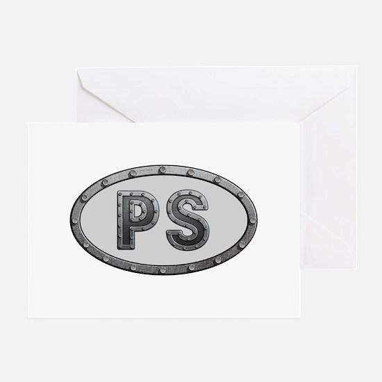 PS Metal Greeting Card