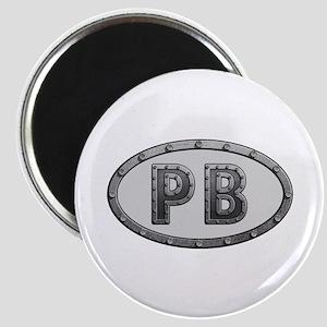 PB Metal Round Magnet