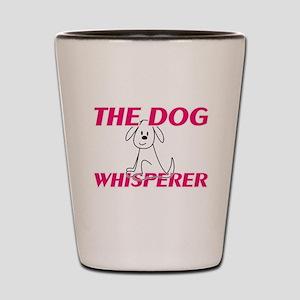 The Dog Whisperer Shot Glass