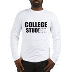 College Stud Long Sleeve T-Shirt