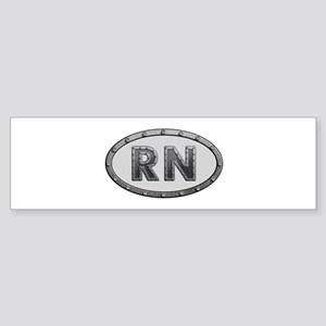 RN Metal Bumper Sticker