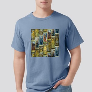 Mucha's Night and Day Mens Comfort Colors Shirt