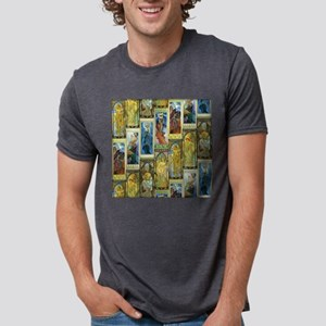 Mucha's Night and Day Mens Tri-blend T-Shirt