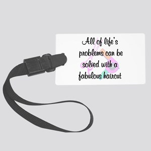 FIERCE STYLIST Large Luggage Tag
