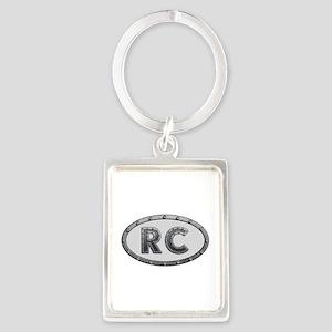 RC Metal Portrait Keychain