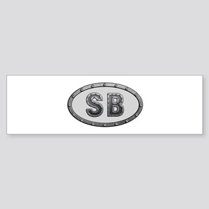 SB Metal Bumper Sticker