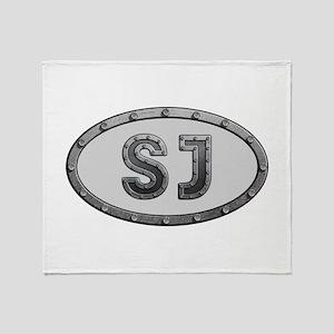 SJ Metal Throw Blanket