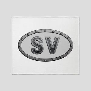 SV Metal Throw Blanket