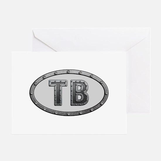 TB Metal Greeting Card