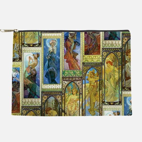 Mucha's Night and Day Makeup Pouch